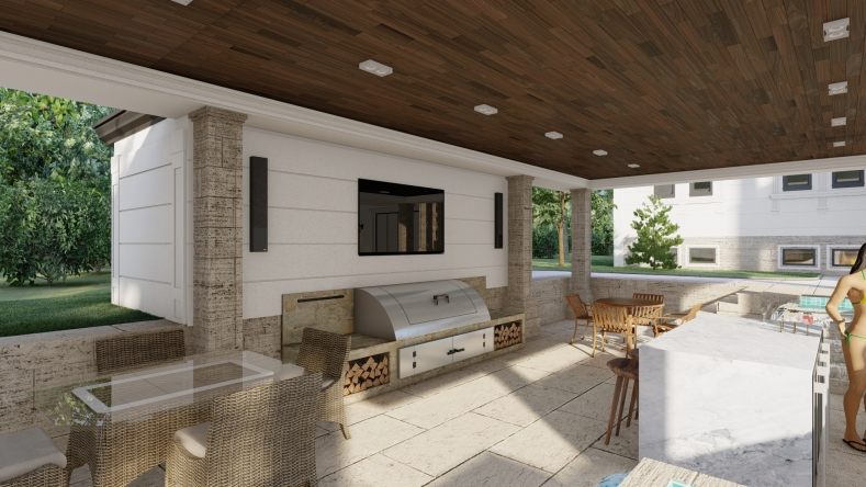 Bar + Sitting area